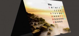 Kalender Duduk 12 Lembar